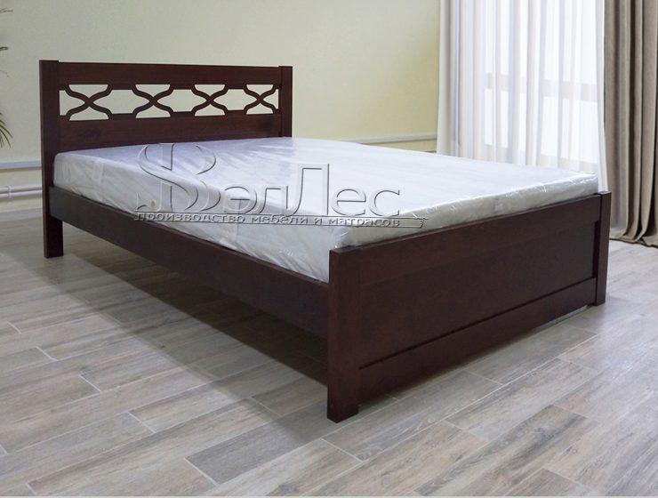 альфа кровать массив