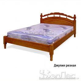 Кровать-тахта Джулия Резная