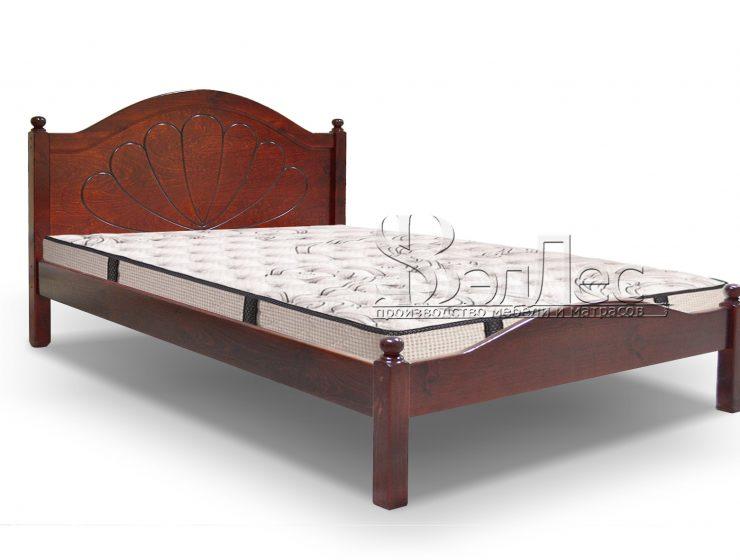 лаура кровать массив