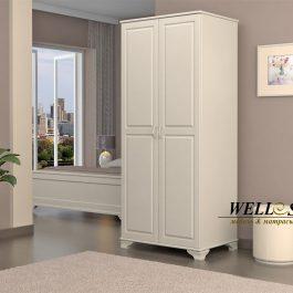 Шкаф Ария 2-х створчатый из массива